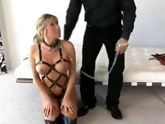 Thai, Asian, BDSM, Blonde, Interracial, Slave