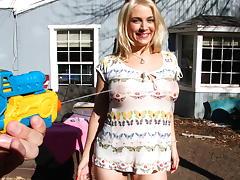Busting a huge creampie inside big tit... tube porn video