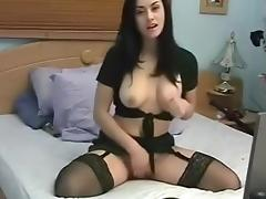 She Play with Huge Toys & Fisting