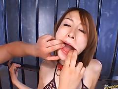 Nene takes part in absolutely crazy bukkake fest tube porn video
