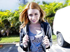 Lexi Belle does the tugging 'round here porn tube video