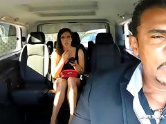 Hardcore car-fucking reality scene with Gala Brown