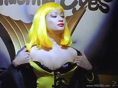Temptress Azlea Antistia in a huge dick ride and naughty blowjob action