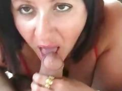 Mature wife doggy style fuck and sucks