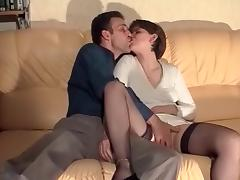 Mom and Boy, Anal, Mature, Old, Vintage, Old and Young