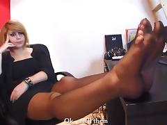 Total Submission To Her Perfect Feet