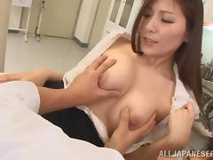yuna showing off her tits