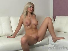 Babe, Amateur, Audition, Babe, Blonde, Casting