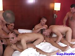 Hardcore orgy with Jimmy Johnson tube porn video