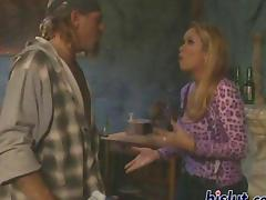Vintage sex video with a hot blonde