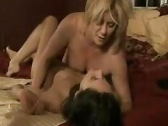 Lesbian Old and Young, Blonde, Brunette, Lesbian, Mature, MILF