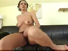 Hot and horny mature with a BBC in her ass