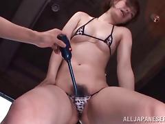 Superb porn adventure with nasty porn hottie Azusa Itagaki
