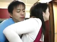 Mom, Asian, Blowjob, Japanese, Lick, Mature