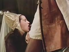 Vintage porn video showing naughty MILFs porn tube video