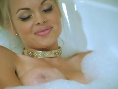 Bath, Bath, Big Tits, Blonde, Blowjob, Close Up