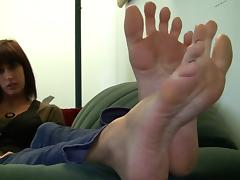 Feet, Amateur, Feet, Tease
