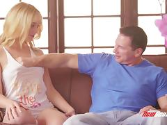 Babysitter, Adorable, Allure, Babysitter, Blonde, Couple