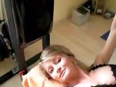 Bound up woman fucked hard in all holes