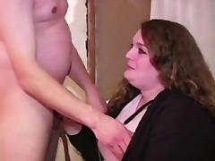 First Time, Amateur, Audition, BBW, Blowjob, Brunette