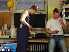 Bi stockings ho gets cum porn tube video