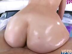 Perfect ass Lizzie Tucker suck and fuck