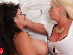 mature posnstar lez tube porn video