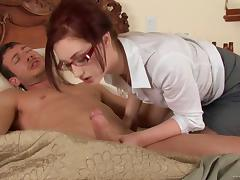 Hot blowjob scene with a naughty porn hottie Cameron Love in nasty fuck action