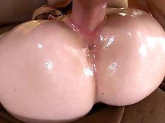 Deep penetration for blondie with glasses