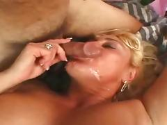 Busty Mature With The Italien