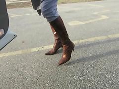donald pliner Gold Snake boots