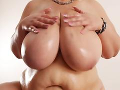 BBW big fat tits lotion