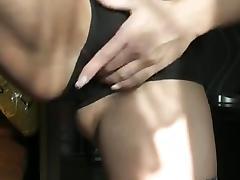 Milf Sniffing Her Own Panties