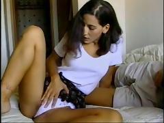 Panties, Brunette, Couple, Hardcore, Panties