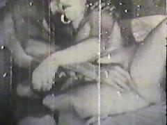 Vintage cock pleasing fuck session