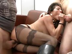 Boots, Boots, German, Granny, Hairy, Lingerie