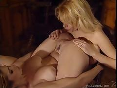 Cute Tiffany Mynx and Lynn LeMay licking pussy and ass