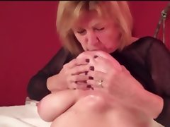 Natural Busty Mature Martiddds Self Suck Nipple Compilation tube porn video