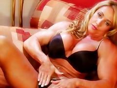 Blonde Big Tits Bodybuilder tube porn video