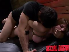 dillion gets brutally fucked in the dungeon