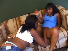 Black Lesbian, Lesbian, Strapon, Black Lesbian
