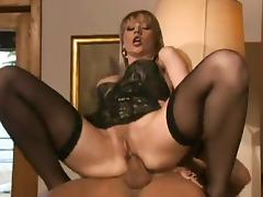 Assfucking, Anal, Assfucking, Blonde, Stockings, Leggings