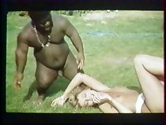 American, American, French, Interracial, Kissing, Vintage
