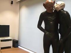 latex gays having sex 1 porn tube video