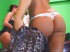 Raquel Devine And Lux May In A Hardcore Hot Ass Threesome