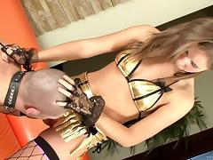 Sexy Chick In Charge In A Hardcore Femdom Banging