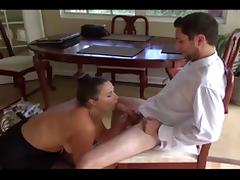 Mom Helps With The Girlfriend Experience