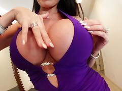 Naughty stud Kevin Moore fucks Eva Karera's big tits hardcore tube porn video